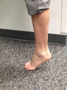 Single Leg Heel Raise