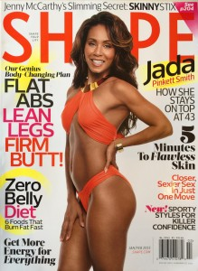 Shape magazine 2015 cover