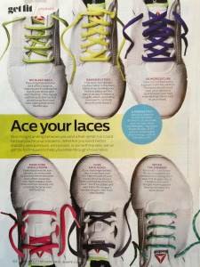 Shape magazine 2015 lacing page