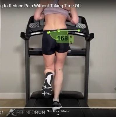 Running Gait Retraining to Reduce Pain without Taking Time Off