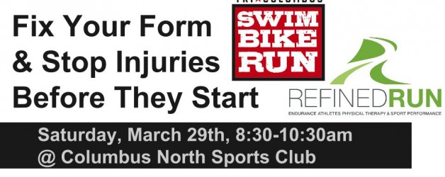 TriFit Clinic – Running Form / Injury Prevention – March 29th 8:30-10:30am
